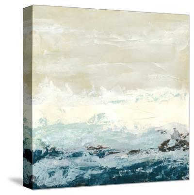 Coastal Currents I-Erica J^ Vess-Stretched Canvas Print