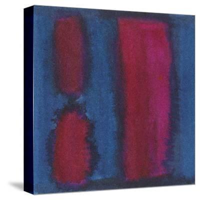 Indigo Meditation II-Renee W^ Stramel-Stretched Canvas Print