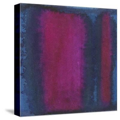 Indigo Meditation I-Renee W^ Stramel-Stretched Canvas Print