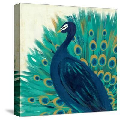 Proud as a Peacock II-Veronique Charron-Stretched Canvas Print