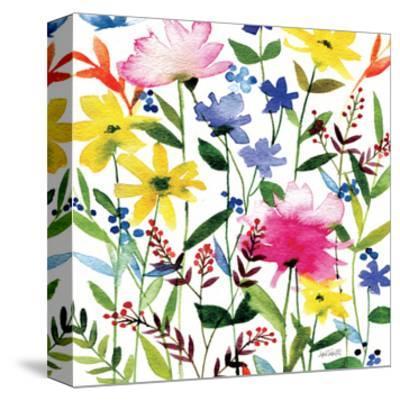 Annes Flowers Crop II-Anne Tavoletti-Stretched Canvas Print