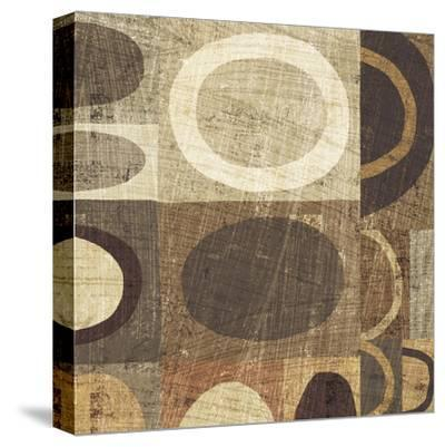 Modern Geometric Neutral II-Michael Mullan-Stretched Canvas Print