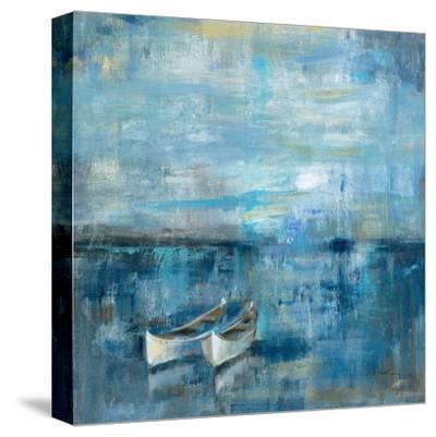 Two Boats-Silvia Vassileva-Stretched Canvas Print