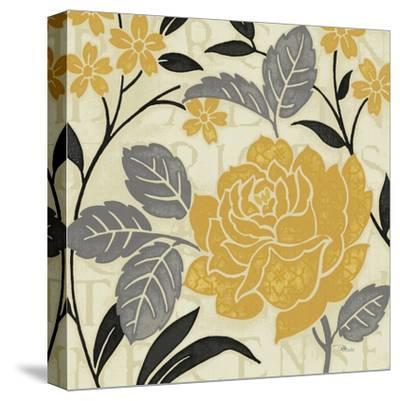 Perfect Petals II Yellow-Pela Design-Stretched Canvas Print