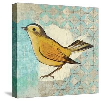 Wilsons Warbler II-Kathrine Lovell-Stretched Canvas Print
