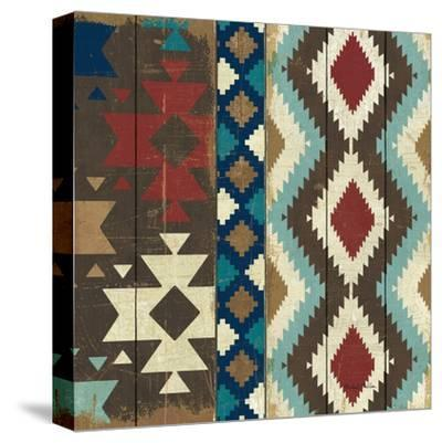 Native Tapestry Crop--Stretched Canvas Print