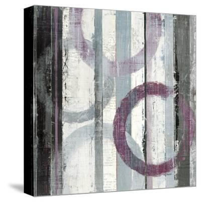 Plum Zephyr II--Stretched Canvas Print
