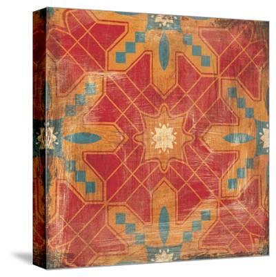 Moroccans Tile II v2-Cleonique Hilsaca-Stretched Canvas Print