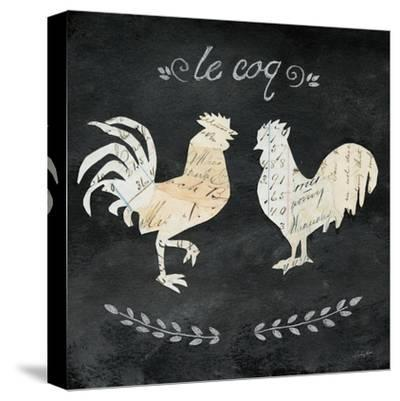 Le Coq Cameo Sq-Courtney Prahl-Stretched Canvas Print