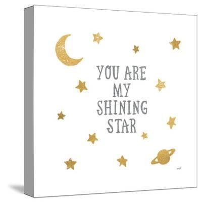 Shining Star-Moira Hershey-Stretched Canvas Print