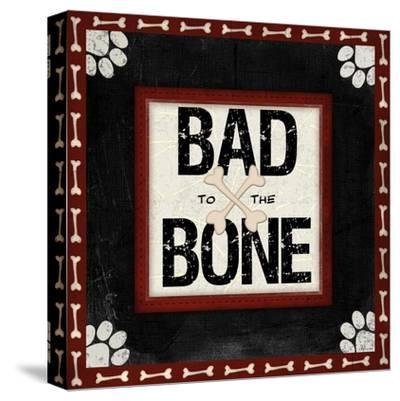 Bad to the Bone-Jennifer Pugh-Stretched Canvas Print