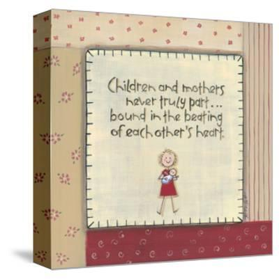 Children and Mothers-Karen Tribett-Stretched Canvas Print
