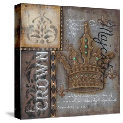 Crown-Kim Lewis-Stretched Canvas Print