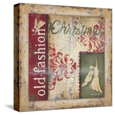 Christmas-Kim Lewis-Stretched Canvas Print