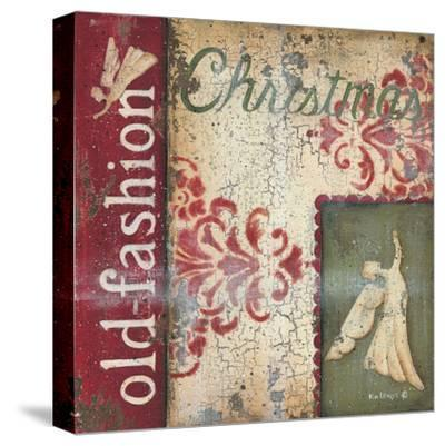 Old Fashioned Christmas-Kim Lewis-Stretched Canvas Print