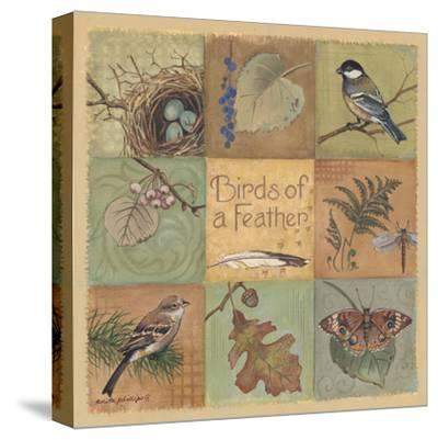 Birds of a Feather-Anita Phillips-Stretched Canvas Print