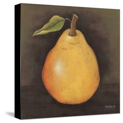 Yellow Pear-Kim Lewis-Stretched Canvas Print