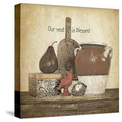 Blessed Nest-Jo Moulton-Stretched Canvas Print