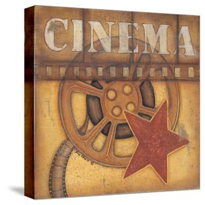 Cinema-Kim Lewis-Stretched Canvas Print