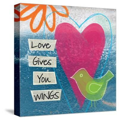 Love-Linda Woods-Stretched Canvas Print