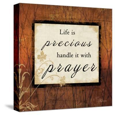 Life Is Precious-Jennifer Pugh-Stretched Canvas Print