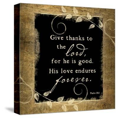 Give Thanks-Jennifer Pugh-Stretched Canvas Print