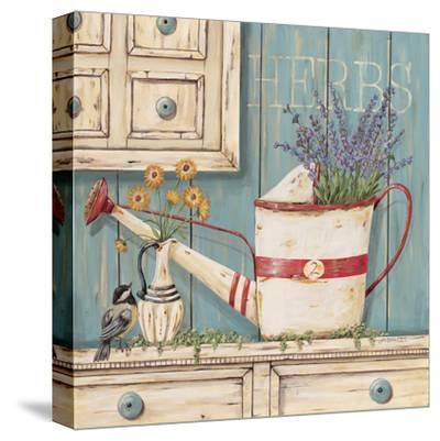 Herbs-Jo Moulton-Stretched Canvas Print