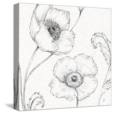 Blossom Sketches I-Daphne Brissonnet-Stretched Canvas Print