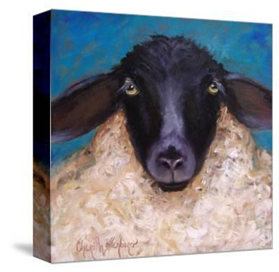 Lester the Lamb-Cheri Wollenberg-Stretched Canvas Print