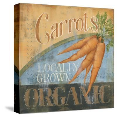 Carrots-Kim Lewis-Stretched Canvas Print