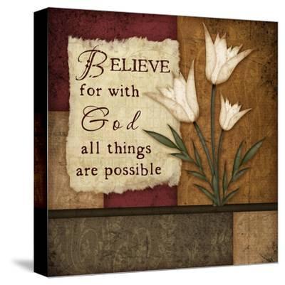 Believe-Jennifer Pugh-Stretched Canvas Print
