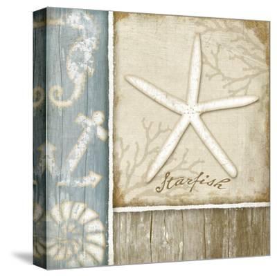 Starfish-Jennifer Pugh-Stretched Canvas Print