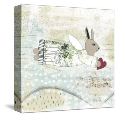 Bunny Angel-Sarah Ogren-Stretched Canvas Print