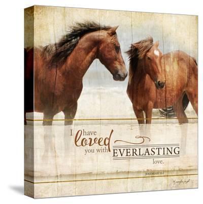 Everlasting Love-Jennifer Pugh-Stretched Canvas Print