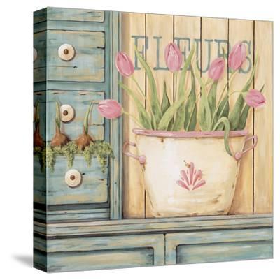 Fleurs-Jo Moulton-Stretched Canvas Print