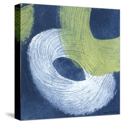 Blue Revolution IV-Megan Meagher-Stretched Canvas Print