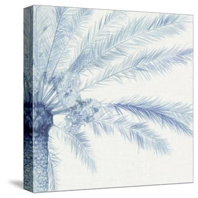 Chambray Palms II-Megan Meagher-Stretched Canvas Print