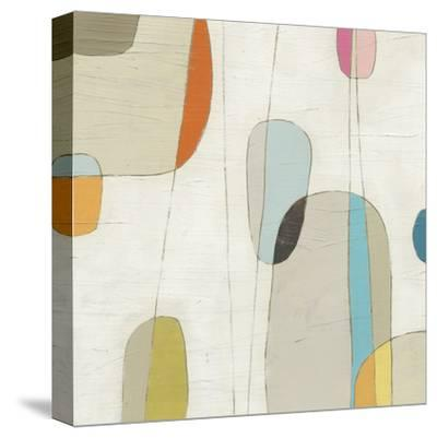 Molecular Motion III-Erica J^ Vess-Stretched Canvas Print