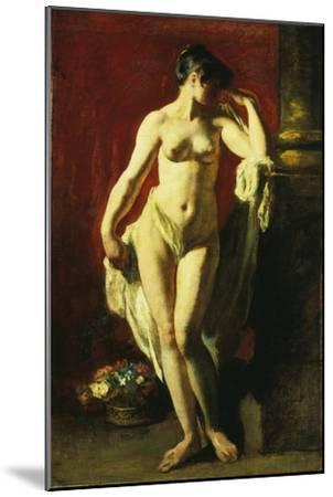 Standing Female Nude-William Etty-Mounted Giclee Print