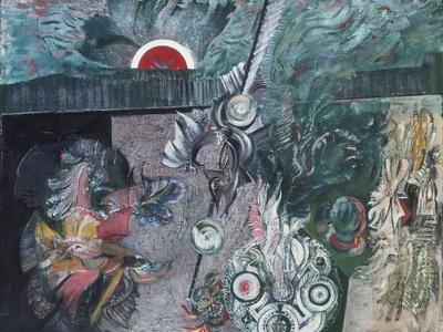 Blossoms-Ceri Richards-Framed Giclee Print