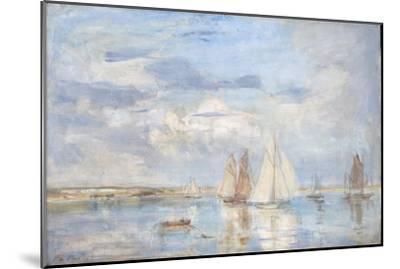 The White Yacht-Philip Wilson Steer-Mounted Giclee Print