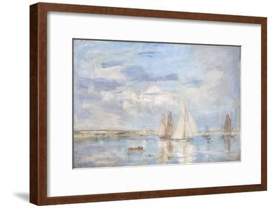 The White Yacht-Philip Wilson Steer-Framed Giclee Print