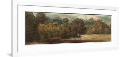 A View at Ambleside-Francis Towne-Framed Giclee Print