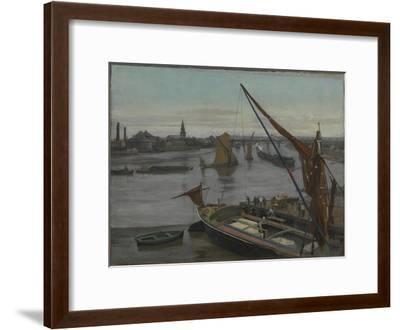 Battersea Reach-Walter Greaves-Framed Giclee Print