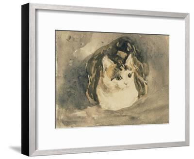 Cat-Gwen John-Framed Giclee Print