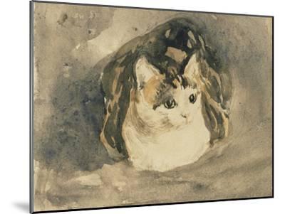 Cat-Gwen John-Mounted Giclee Print
