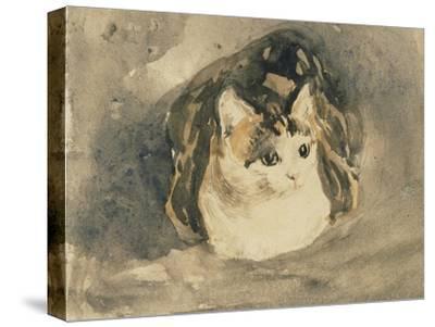 Cat-Gwen John-Stretched Canvas Print