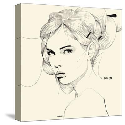 Sutileza-Manuel Rebollo-Stretched Canvas Print