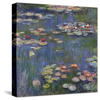 Water Lilies (Nymphéas), c.1916-Claude Monet-Stretched Canvas Print