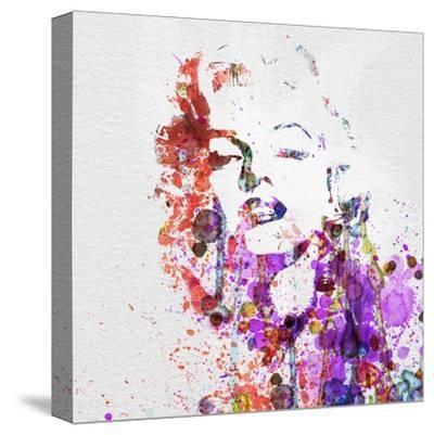Marilyn Monroe-NaxArt-Stretched Canvas Print